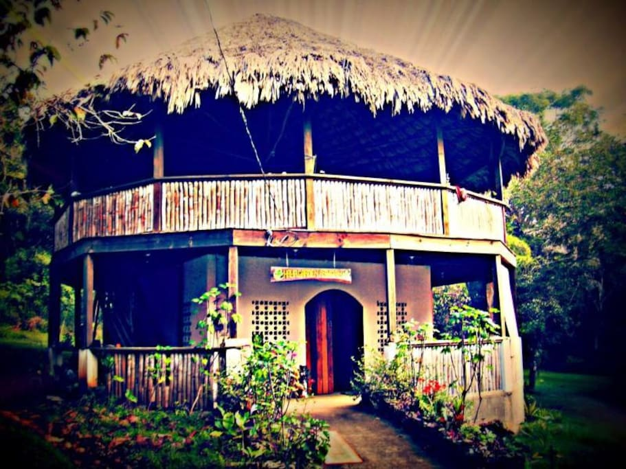 welcome to the ashram, a friendly chilled out place to relax.
