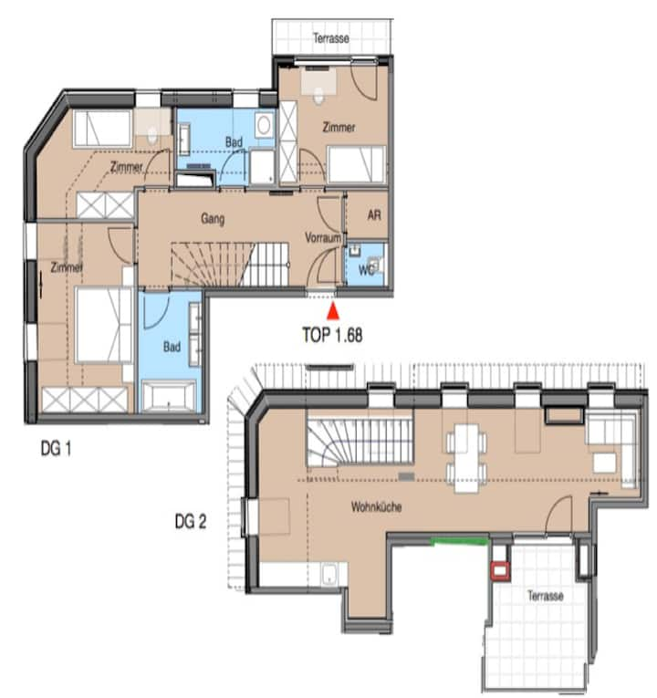 Room in shared Apartment 168C