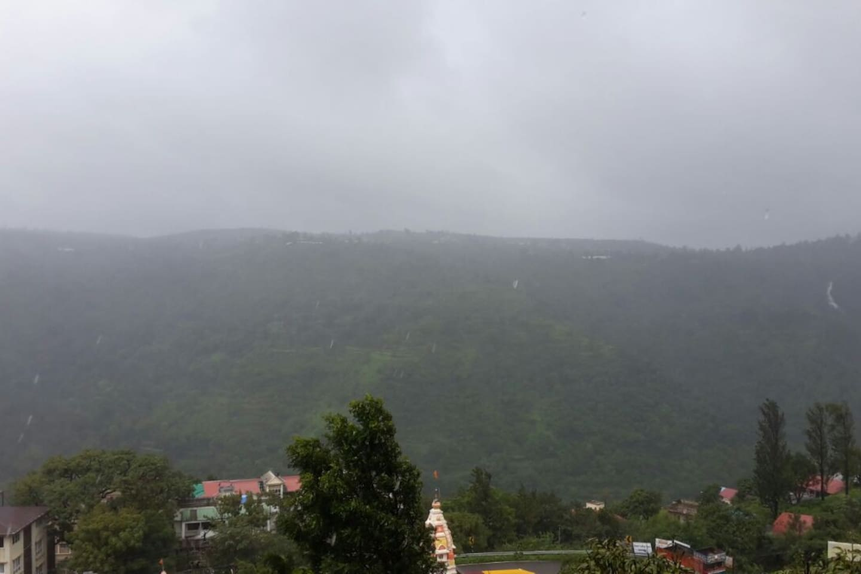 View during Rainy season