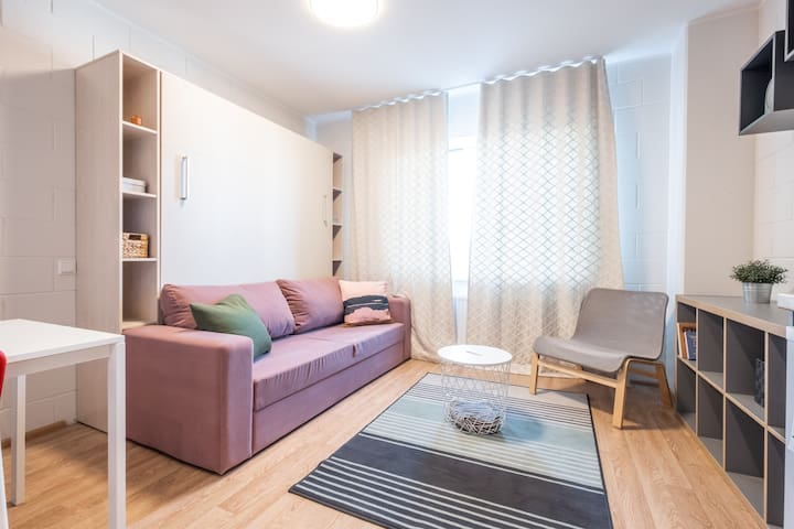 Modern stay in comfortable and brand NEW studio
