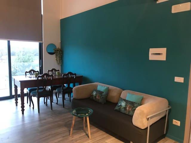 Modern Loft Weizen with Beer House Montepulciano