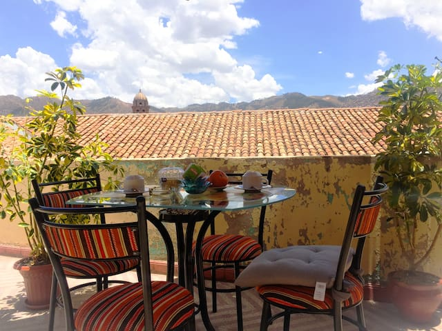 COZY STUDIO APARTMENT WITH TERRACE CITY CENTER - Cusco