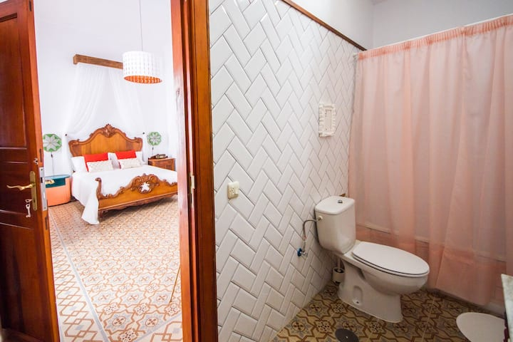 Aminta room in an old canary house