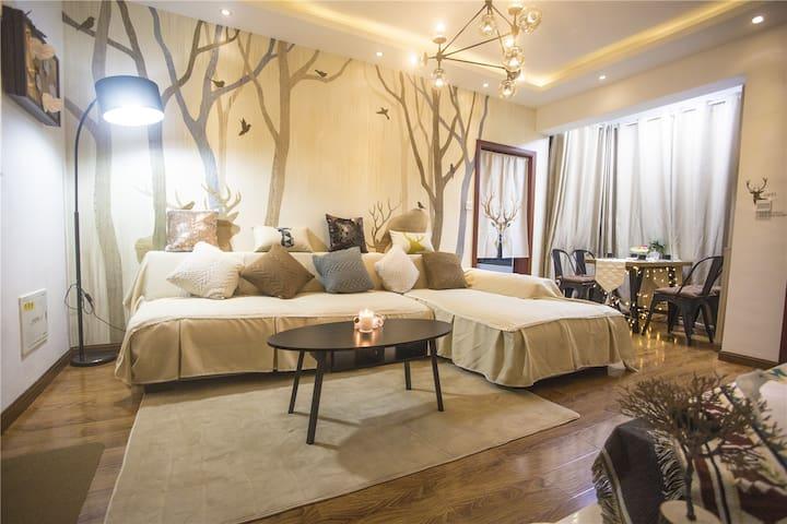 又见东篱 精美两室一厅 近花果园湿地公园、购物中心、国际中心 - Guiyang Shi - Condominio