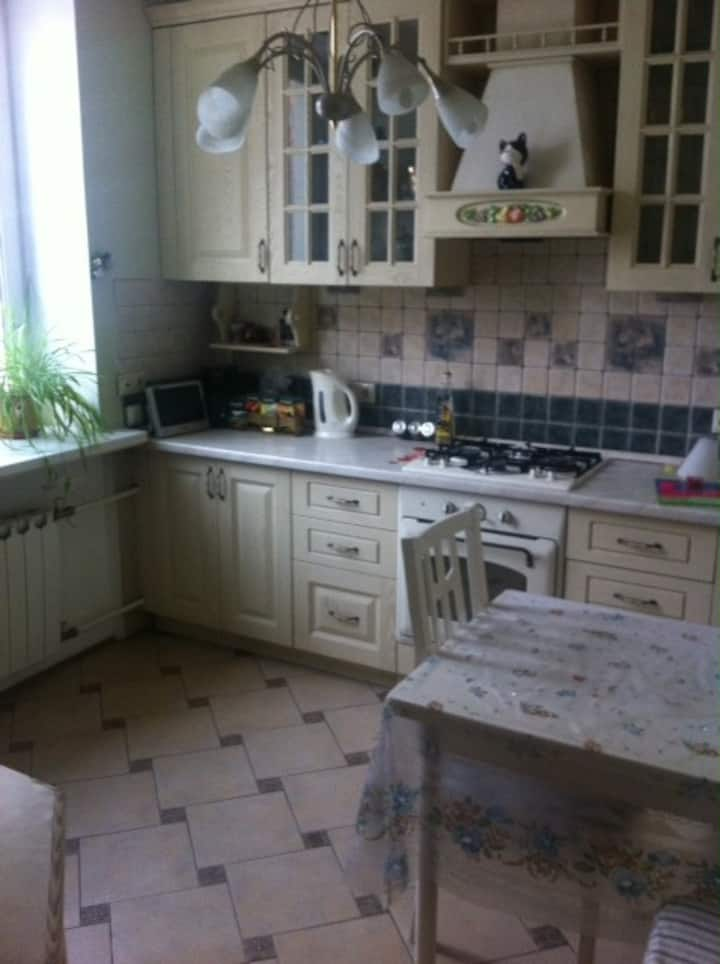 A lovely room 15m2 with bed for 2 persons