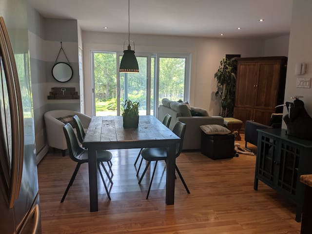Apartment - Access to little Magog lake