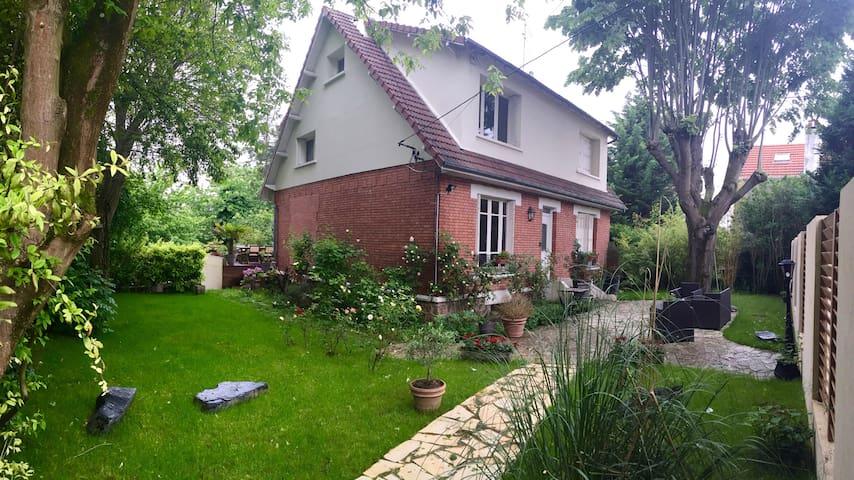 Maison de charme - L'Haÿ-les-Roses - Rumah