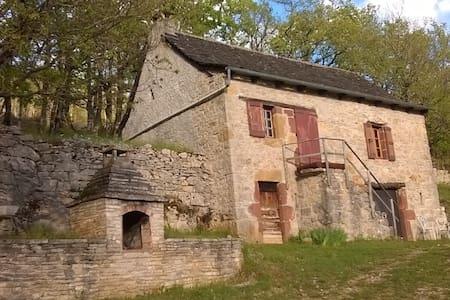 maisonnette sur les hauteurs de la canourgue - La Canourgue
