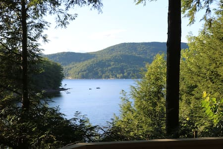 Sacandaga Lake House Adirondack Camp-The HydeOWay