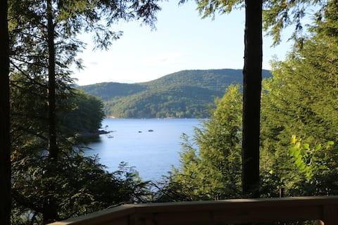 Sacandaga Lake House Adirondack Camp-The HydeOWay