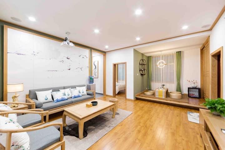 古城•公寓3 中式禅意 三室两厅两卫 南华大桥近江边 免费停车一台