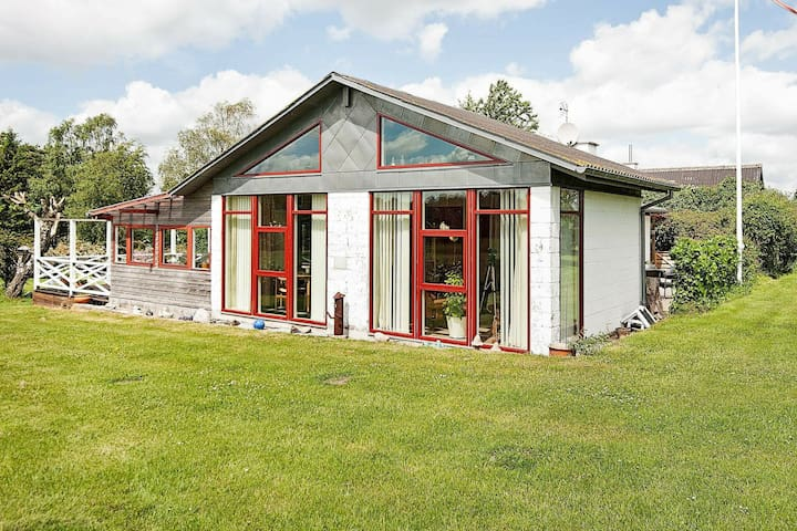 Lovely Holiday Home in Knebel near Sea