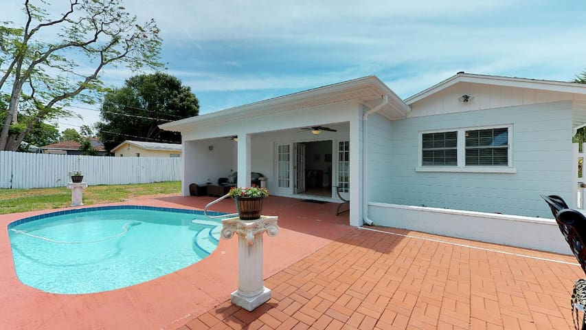 Best Location, Clean,w/ Fenced Yard & Private Pool