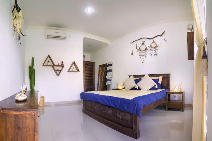 Boho Room with AC in Canggu  - 3 million per month