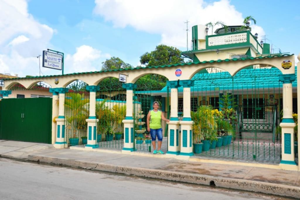 Alojamiento Maite B&B.Particular House.Moron.Cuba