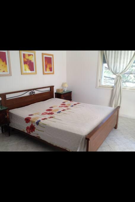 1 camera da letto matrimoniale