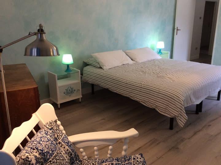 De blauwe kamer van Casa Cassandra