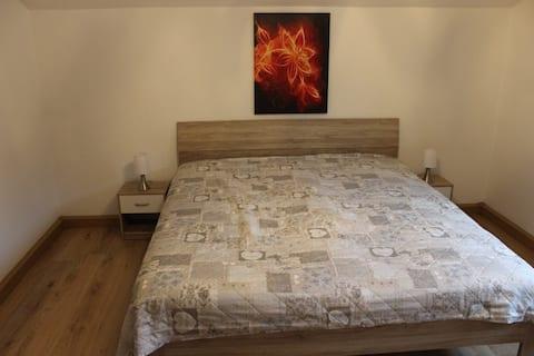 Zimmer im Bäderdreieck.