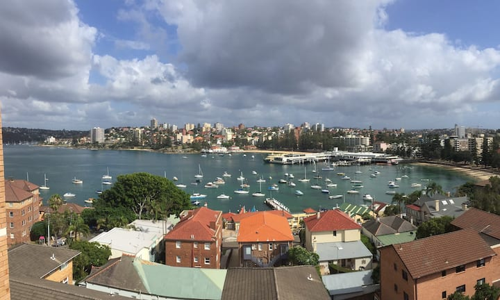 Manly Top Floor Apartment With Panoramic Views