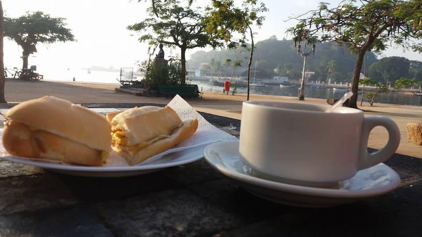 Quarto Confortável na Ilha de Paquetá - Rio de Janeiro - Byt