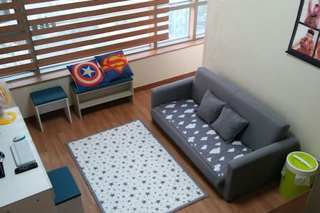 Luxury Loft APT, For couple&Family, up to 6people - Namdong-gu