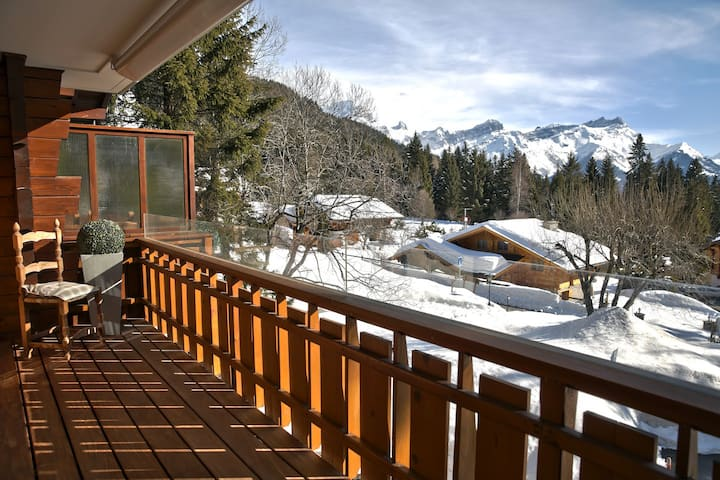 Apartment with great view in Villars Sur Ollon