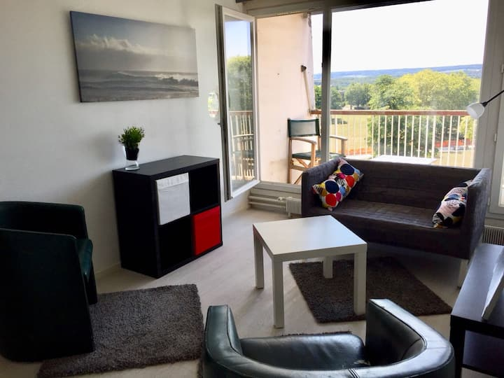 Cosy apartment in Cergy with close access to Paris