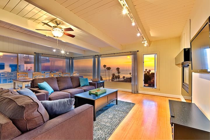 15% OFF to 6/15 - Beach Home w/ Endless Ocean Views, Walk to Sand + More