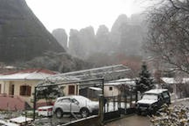 Hostel Genesis - Kastraki - Hus