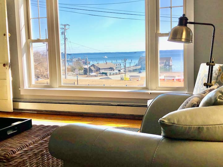 Overlooking  Harbor and Penobscot Bay - Downtown