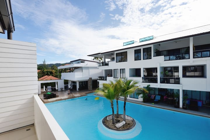 Pool access Townhouse, 3 bedrooms, 103 - Koh Lanta - Casa