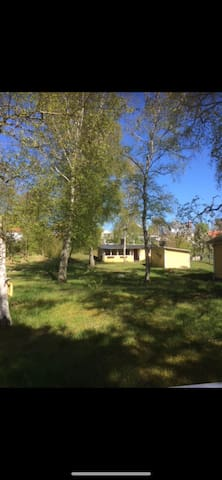 Cozy cottage 200 meters from the beach in Halmstad