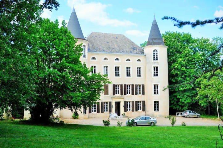 25 pers.réunions de famille,amis,location de salle - Salles-sur-l'Hers - Casa