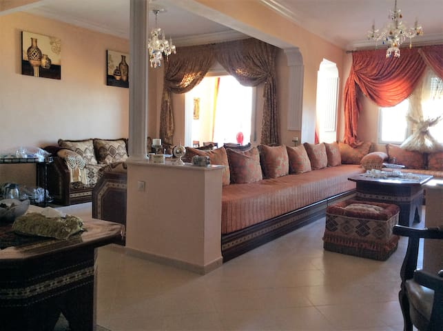 Appartement avec belle vue sur la méditerranée - Fnideq - Apartemen