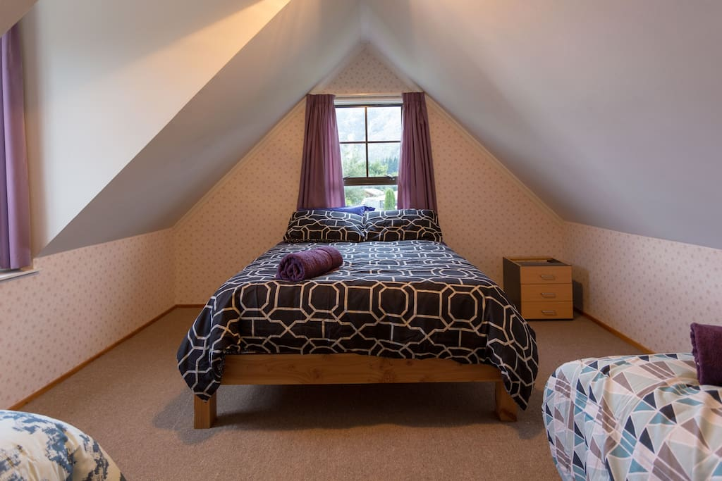 Private bedroom, double bed.
