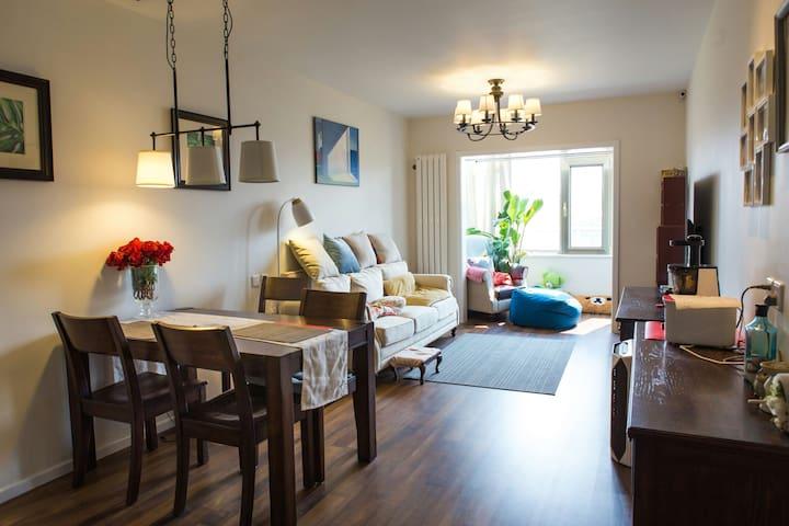 Lovely cozy 1 BR near central villa district - Pequim - Apartamento