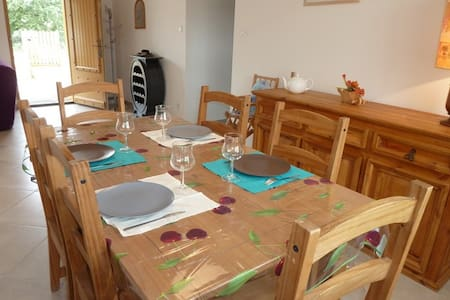 Holiday home, season rental at Brouzet les Alès - Brouzet-lès-Alès - Casa