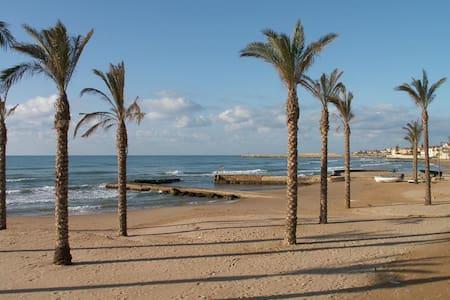 Casa Mazzarelli - spiaggia sabbiosa sotto casa - Marina di Ragusa - Rumah