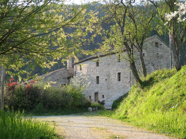 Dimora antica nel silenzio assoluto - Casteldelci - Huis