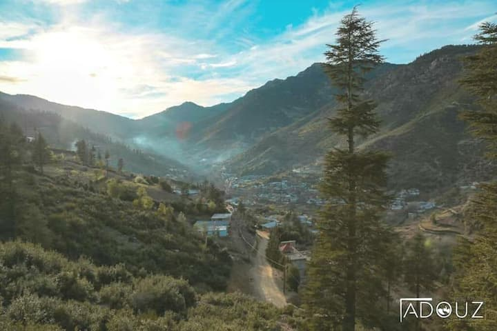 Tamadit village, Hidden Green Paradise