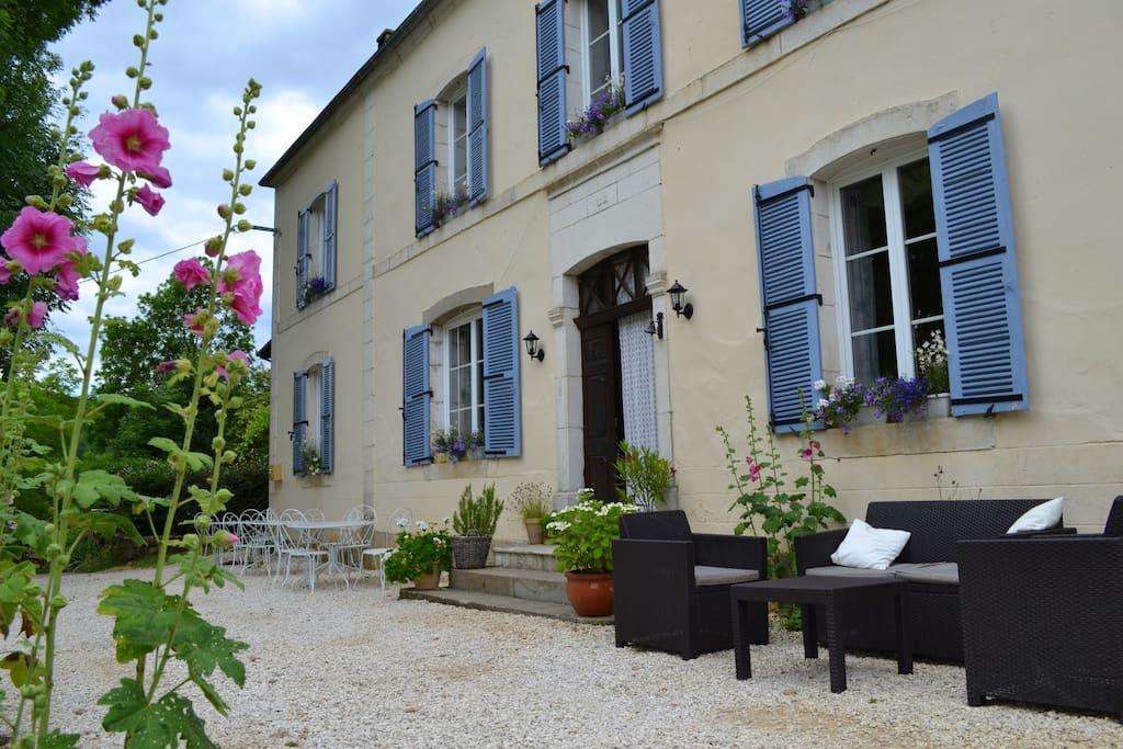Le Manoir, het woonhuis