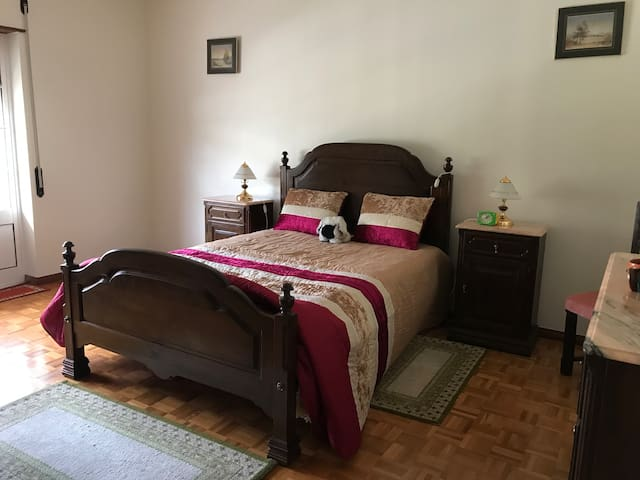 Private double bedroom in a nice guesthouse