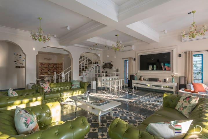 Casa Pelo Mar_Luxury 5 bedroom villa@Candolim