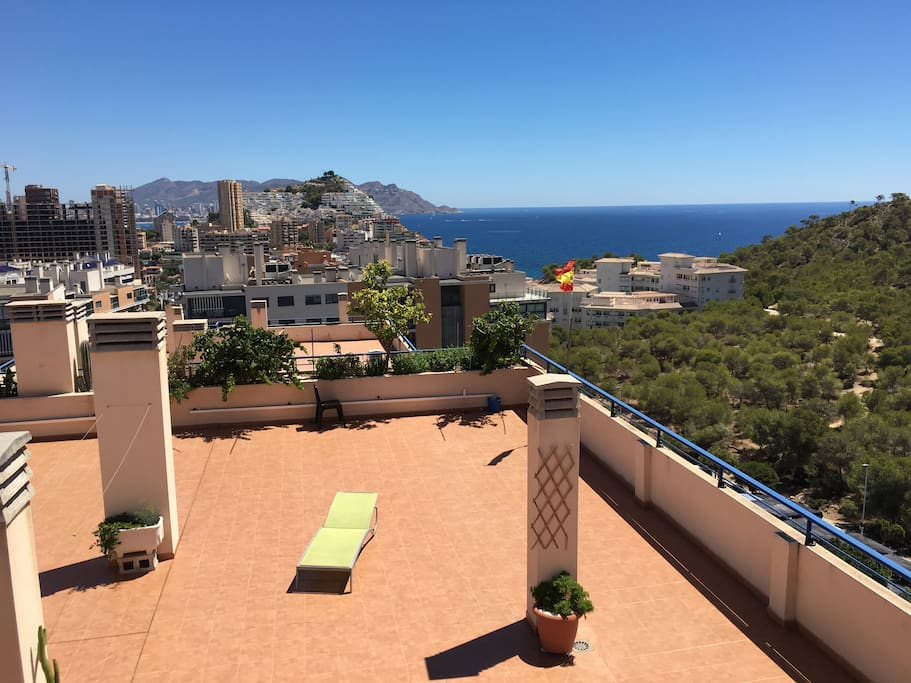 Spectacular seaview from 170m2 private terrace.