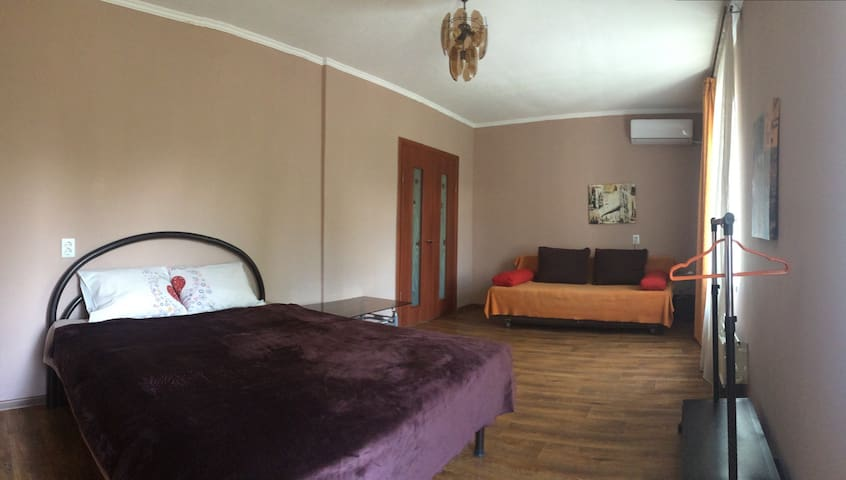 Spacious 1 bedroom in Almaty center