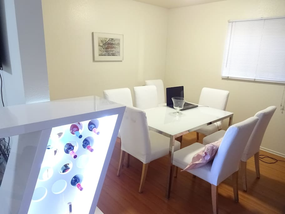 Kitchen, Dining, Rooms
