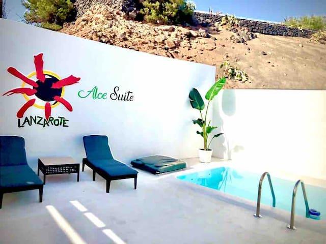 Aloe suite, con piscina privada