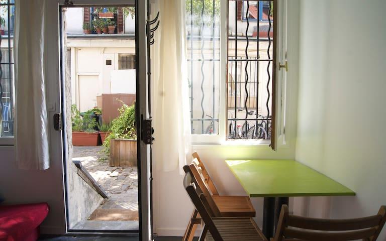 Appartement calme et cosy dans quartier vivant