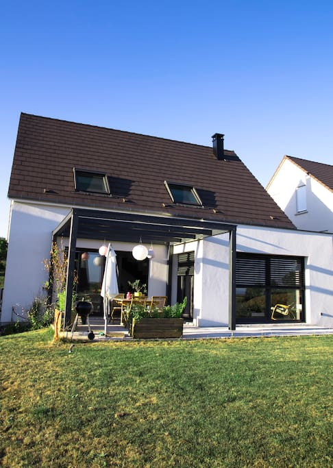 maison lumineuse au calme 25min de strasbourg maisons louer schnersheim alsace. Black Bedroom Furniture Sets. Home Design Ideas