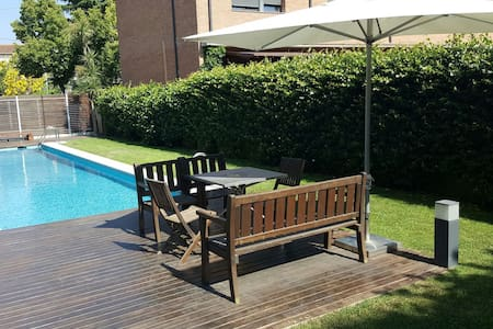 Double room in modern house + pool - Cardedeu, Catalunya, ES - House